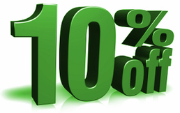 10% discount on all process calibration tools