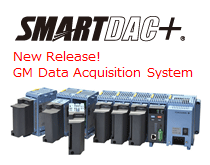 Smartdac+ GM Data Acquisition system