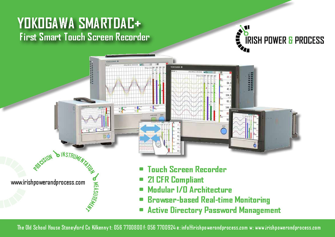 Yokogawa SmartDac+ Touch Screen Chart Recorder