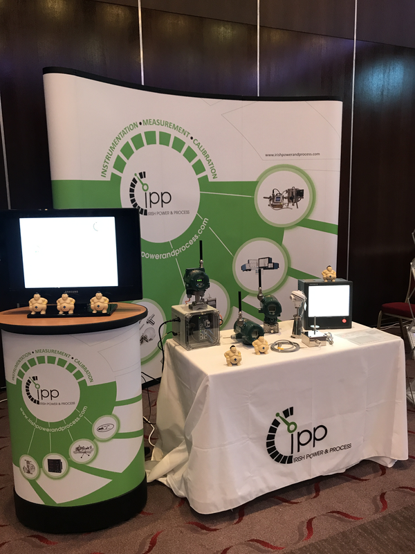 Yokogawa Wireless & Burns Engineering RTDs and Thermocouples at our stand at ISPE