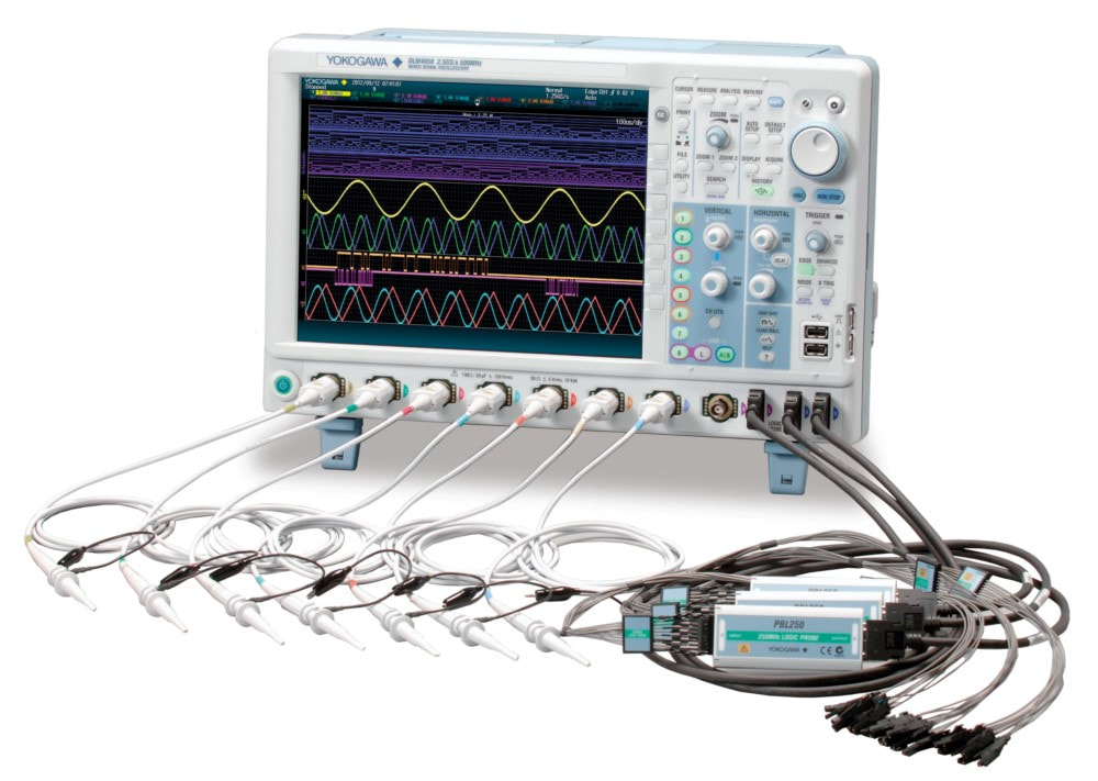 Mixed Signal Yokogawa Oscilloscope with 8 channels for the price of 6