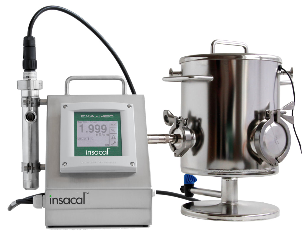 Insacal Conductivity Master Meter USP & EP Purified Water and Water for Injection